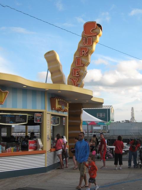 Curley's Fries Wildwood NJ