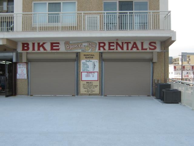 bicycle rental wildwood nj
