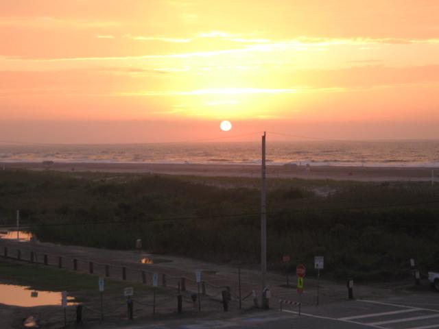 Sunrise On The Wildwood Beach