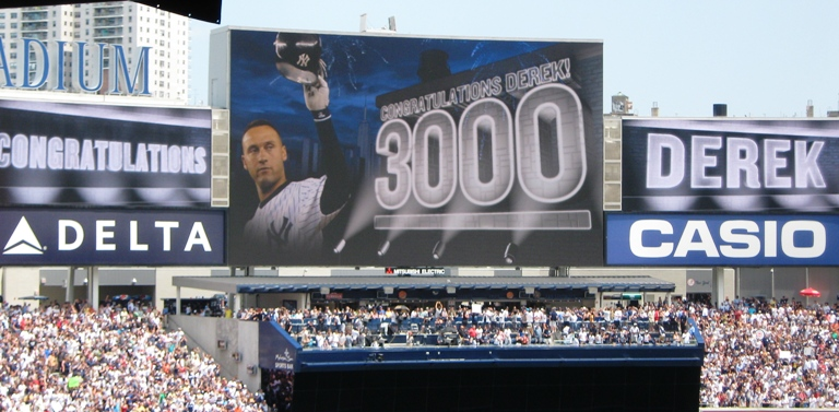 Derek Jeter's 3,000th Hit – An Unlikely Witness, Part 1
