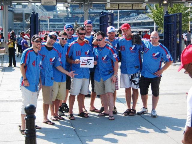 what happened to the montreal expos fans at nats park