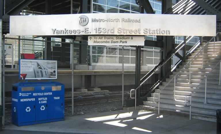 new yankee stadium metro north