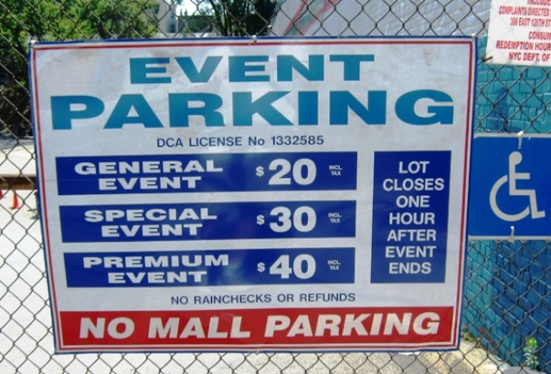 yankee stadium satellite parking