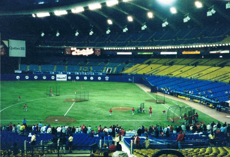 what happened to the montreal expos olympia