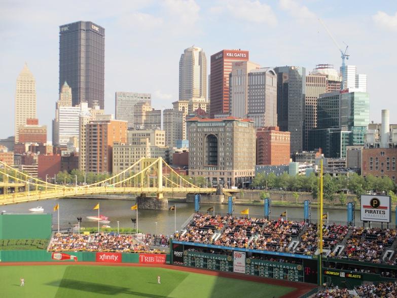 best ballpark in baseball pnc view