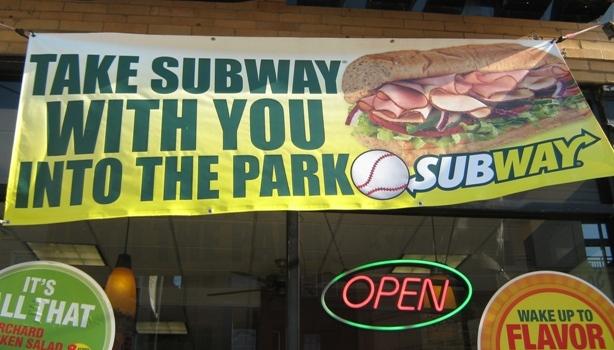 wrigley field subway