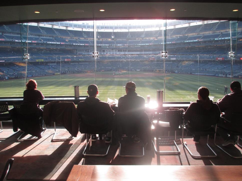 batters eye yankee stadium