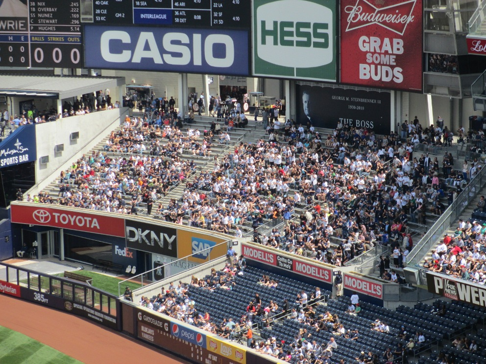 yankee stadium bleachers