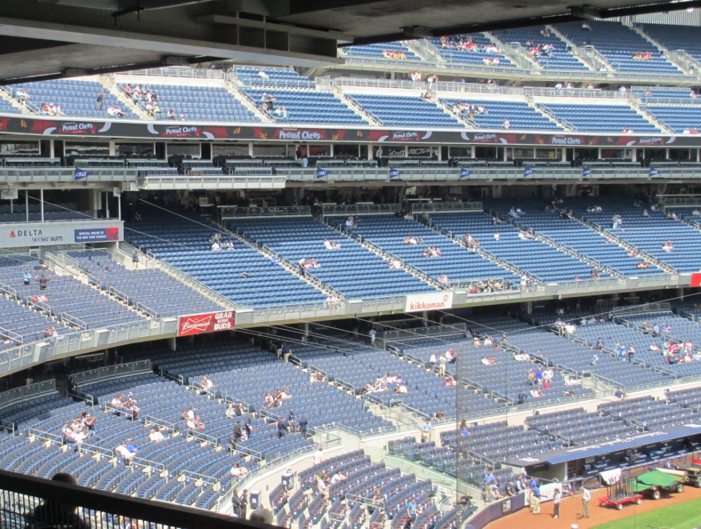 yankee stadium seating main level