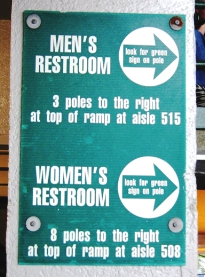 wrigley field seating restrooms