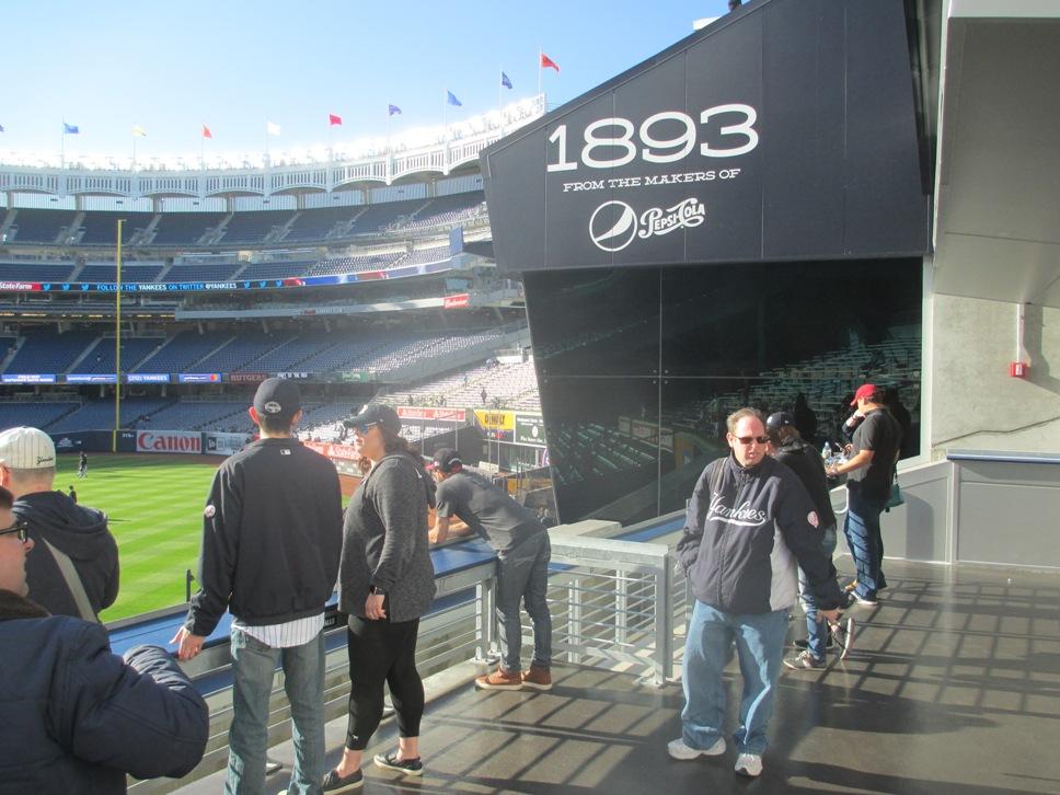 yankee stadium standing room