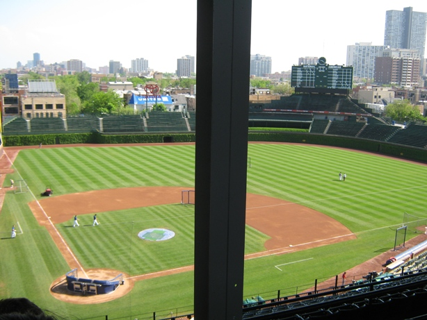 wrigley support poles