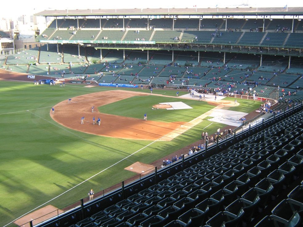 wrigley field seating upper left