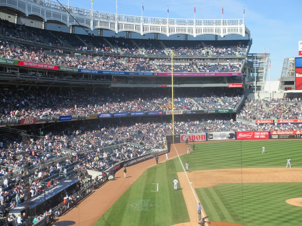yankee stadium shade