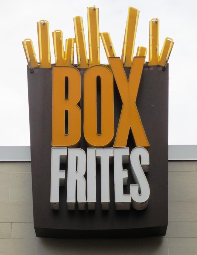 box frites nationals park