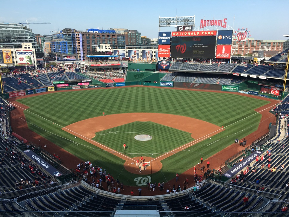 nationals park guide panorama