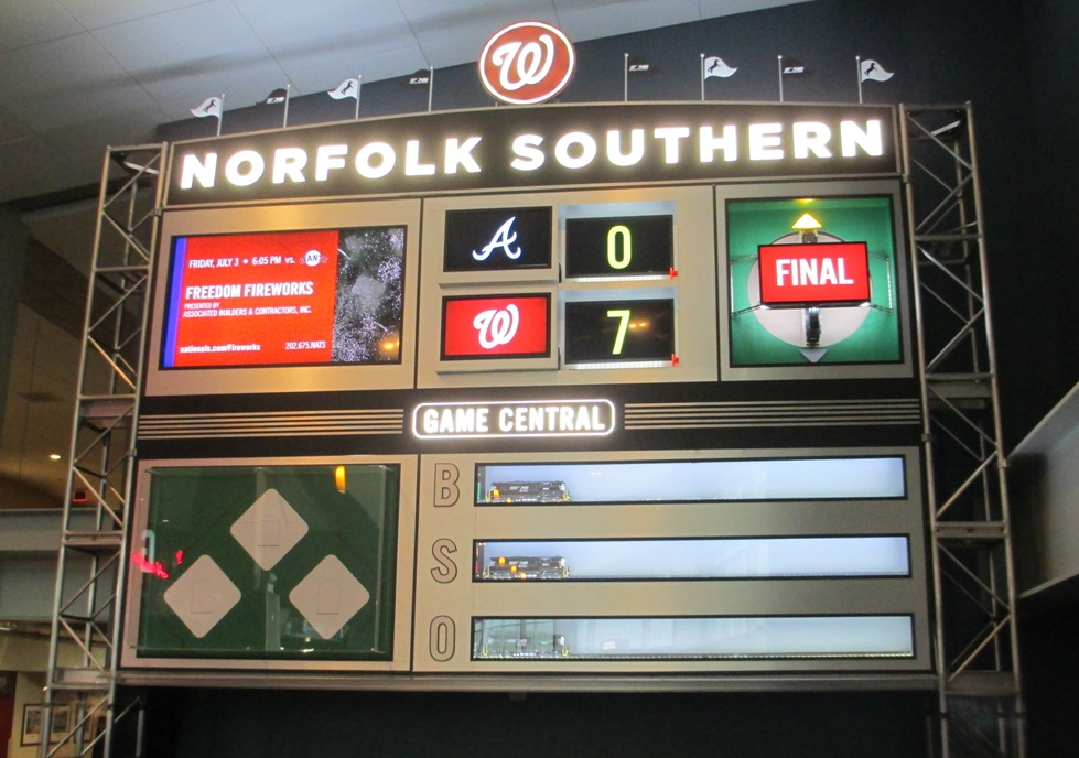 nationals park infield club
