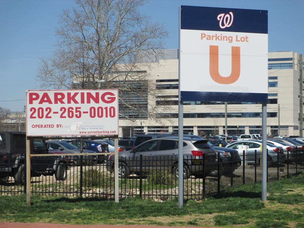 washington nationals parking