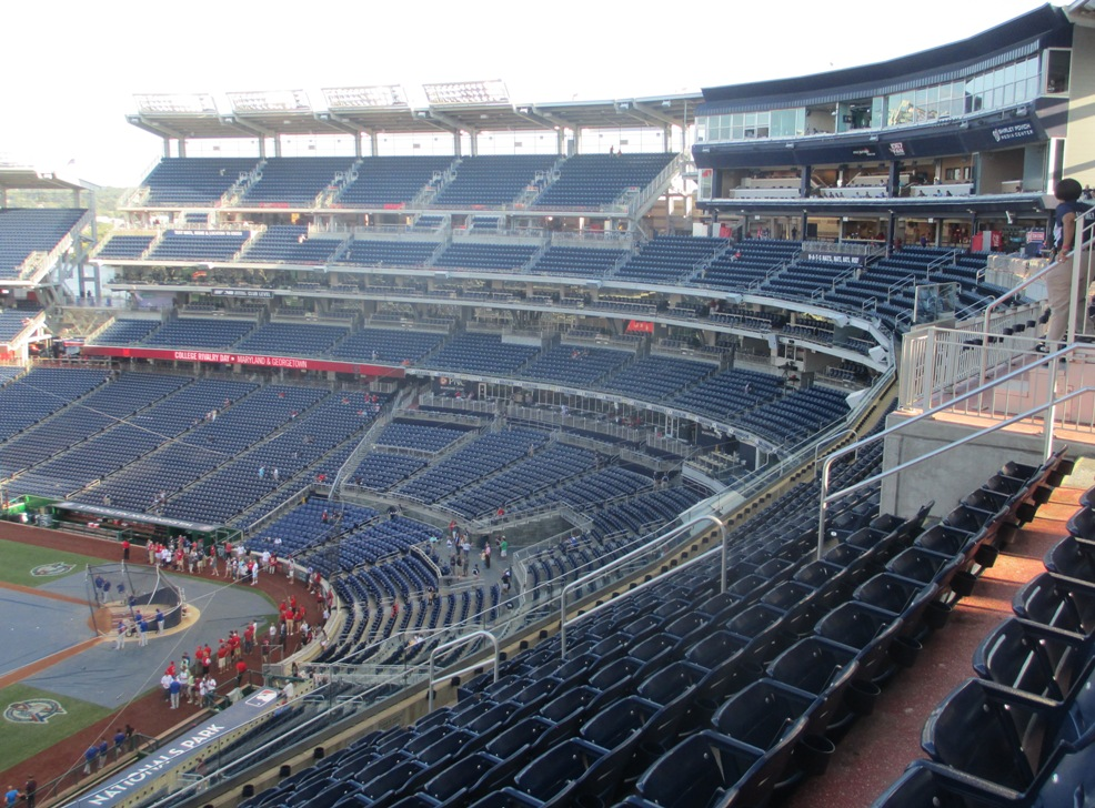 nationals park cheap seating