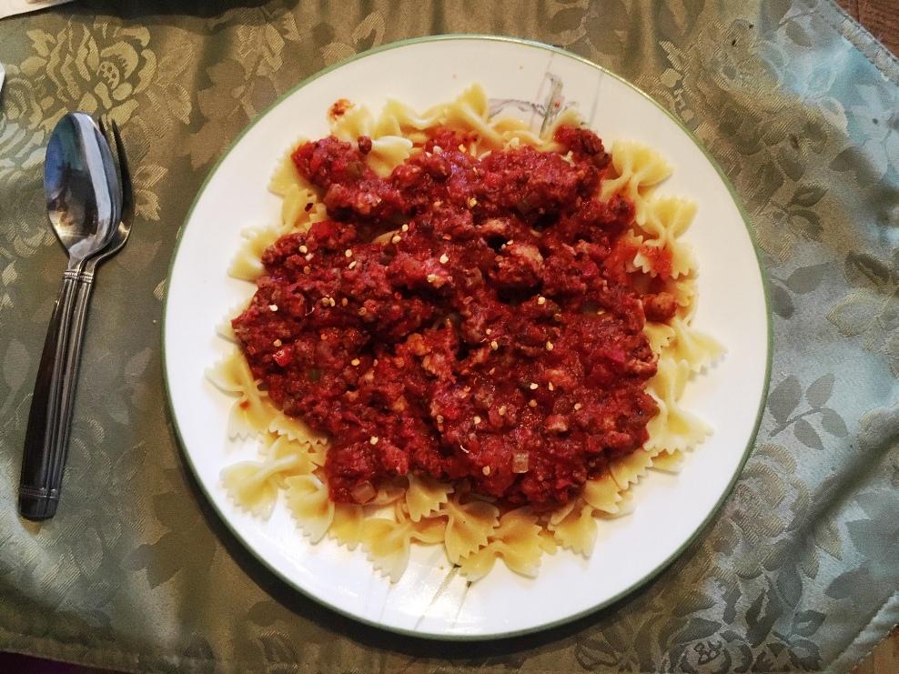 Best Spaghetti Sauce Recipe. Ever. No Joke.
