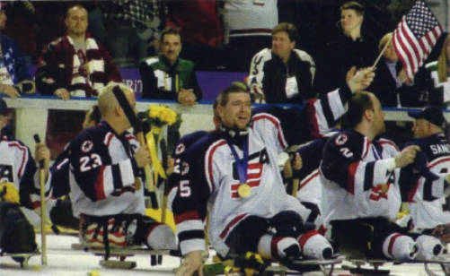 2002 U.S. paralympic hockey team