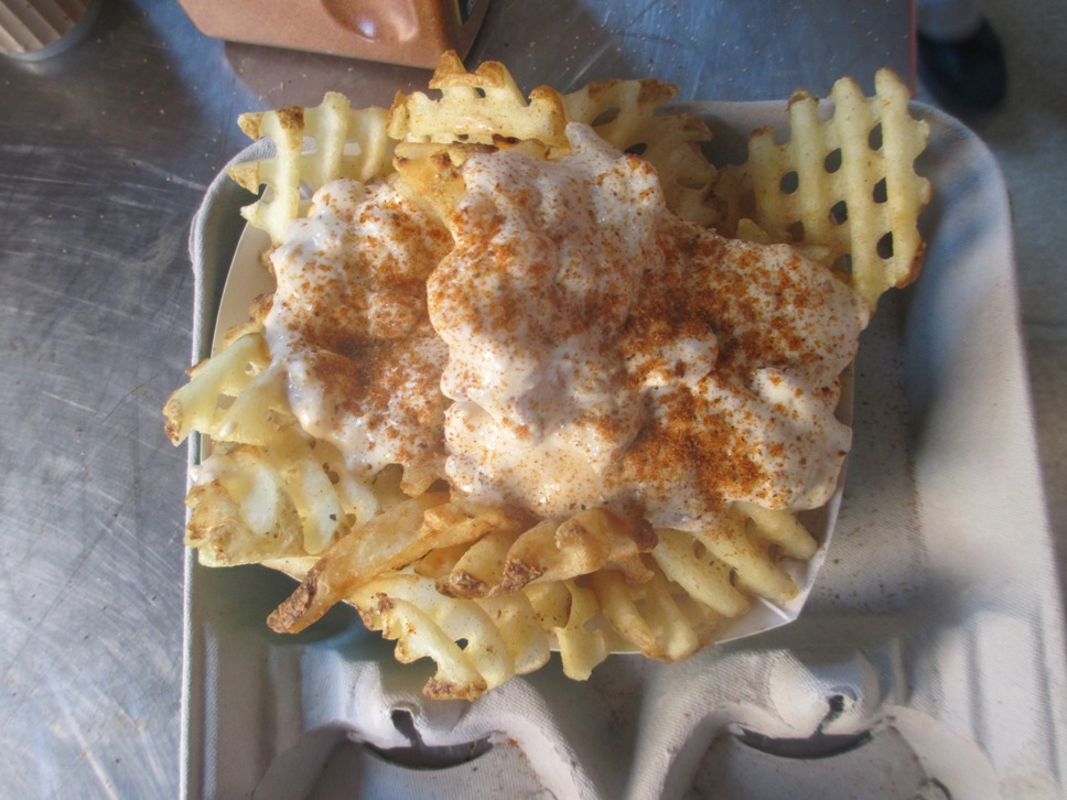 crab waffle fries camden yards