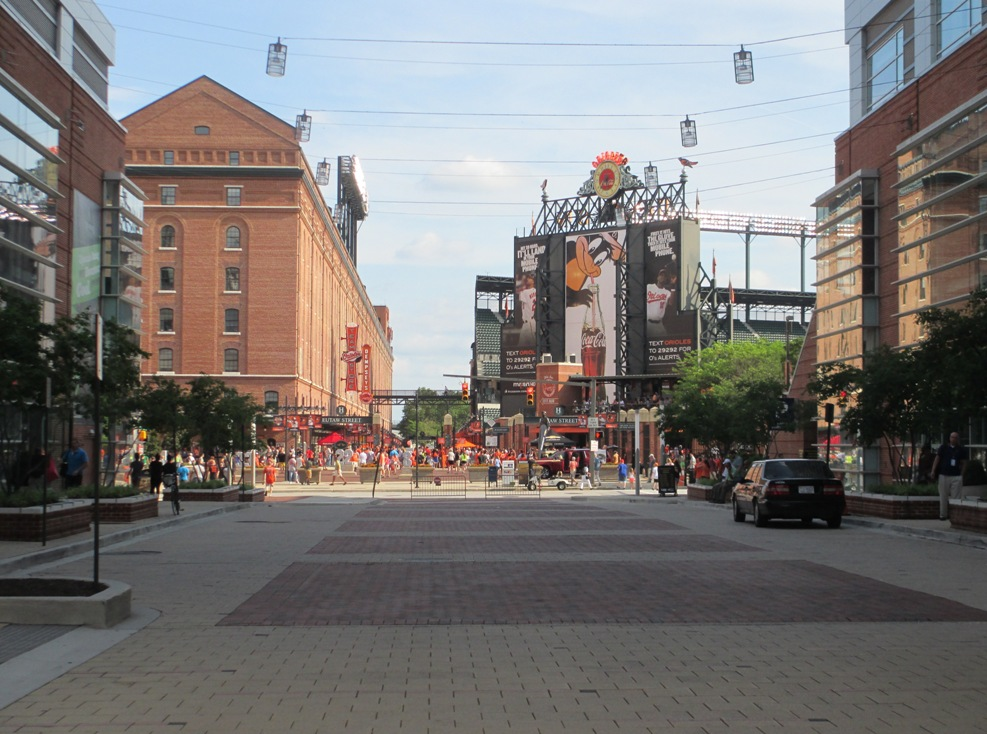camden Yards gate