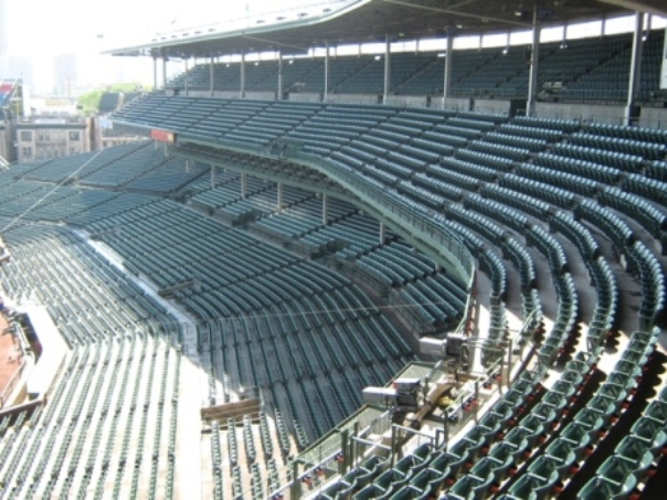 wrigley field upper deck seating