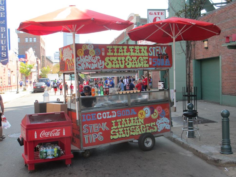 lansdowne street sausages fenway park