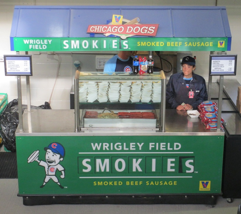 wrigley field smokies stand