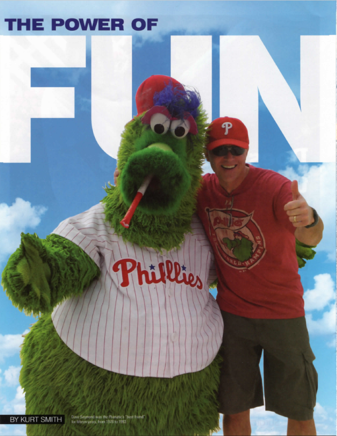dave raymond phillie phanatic