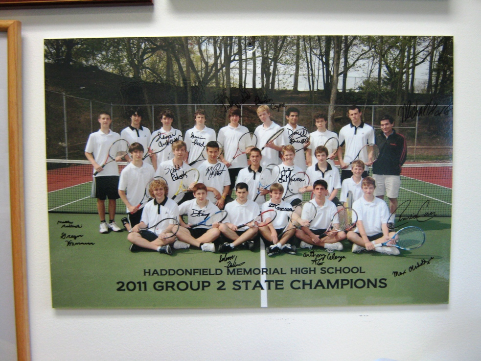 haddonfield tennis champions