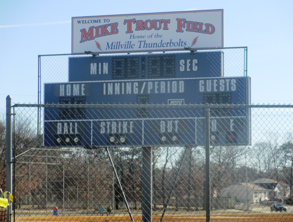 mike trout field millville
