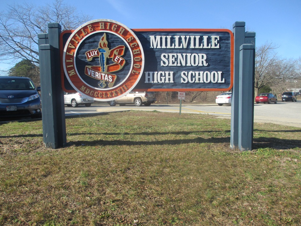 mike trout aaron cox millville high school