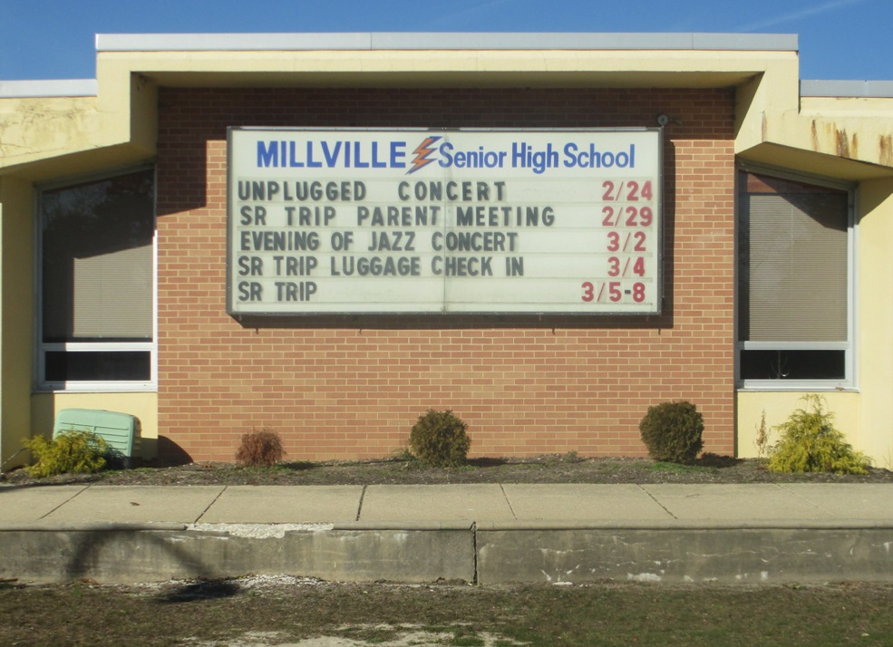 millville high mike trout