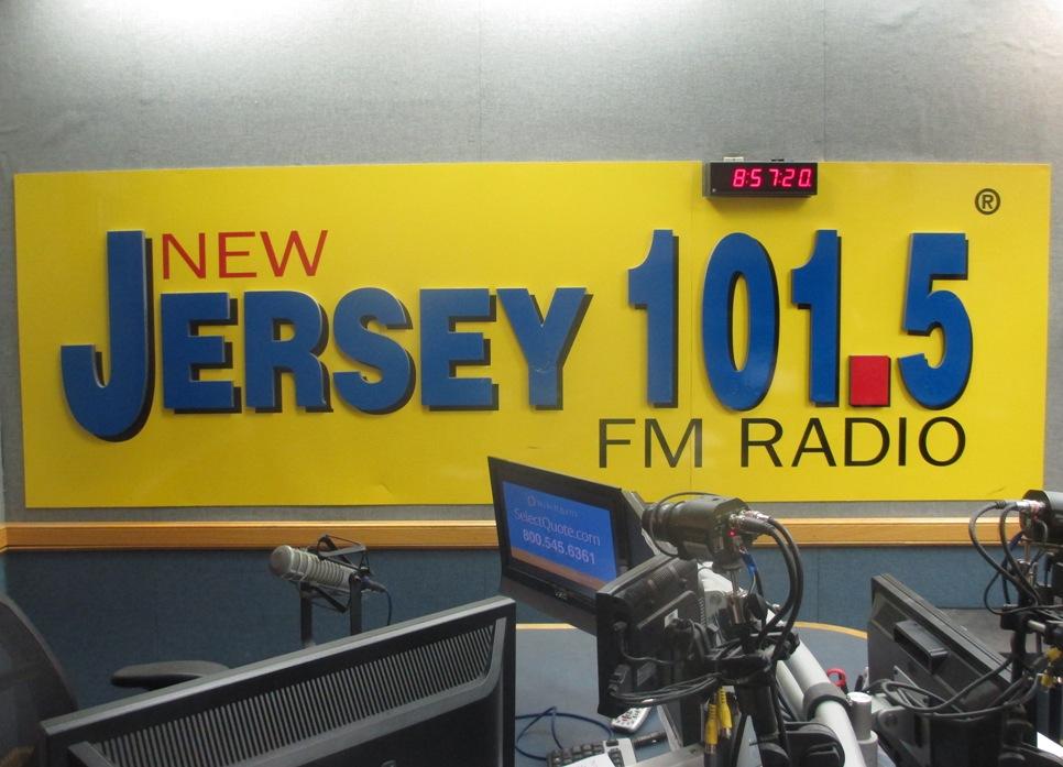 NJ 101.5 studio 2