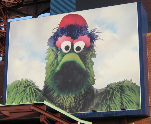 phillie phanatic mural