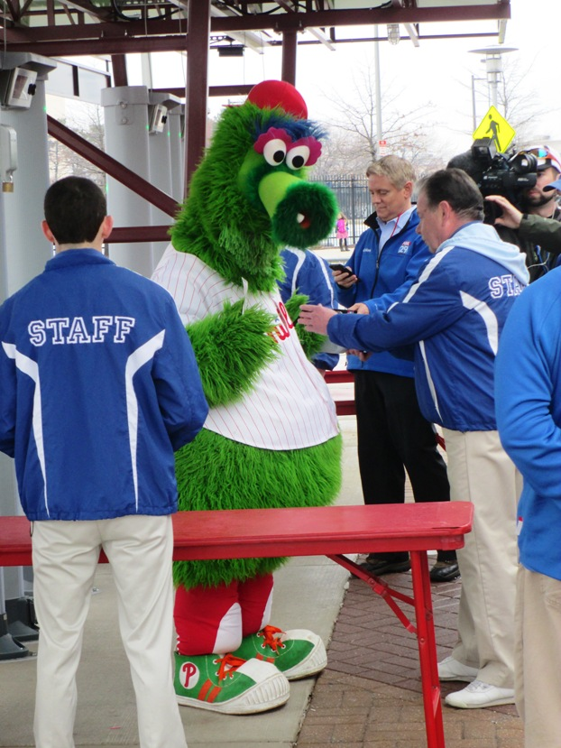 phillie phanatic gate