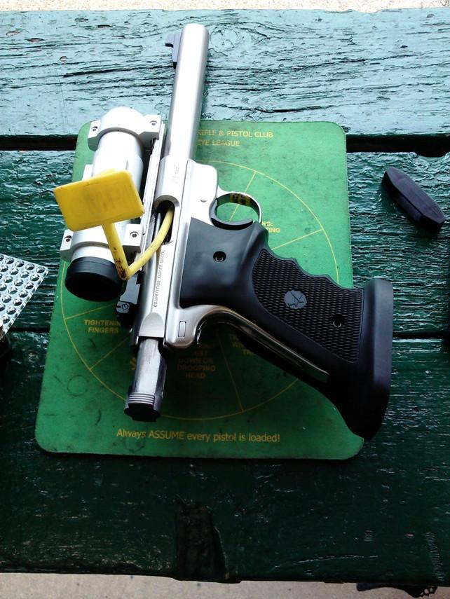 dry firing precision pistol