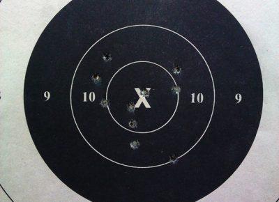 precision pistol bulls eye