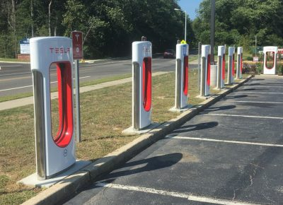 tesla chargers cape may court house