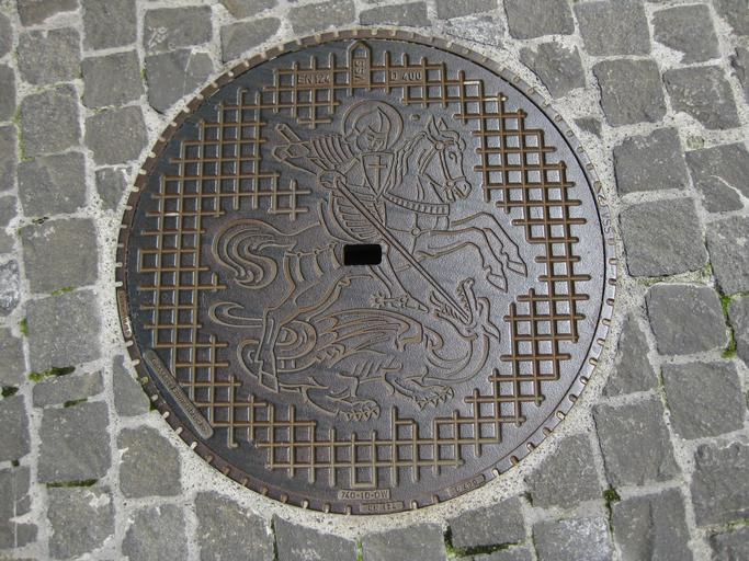manhole cover recycling