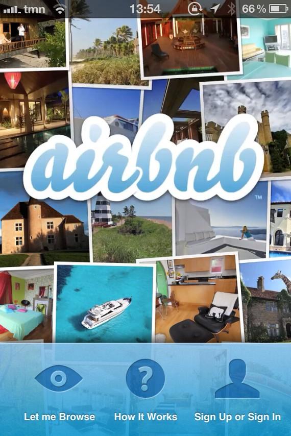 airbnb smartphone