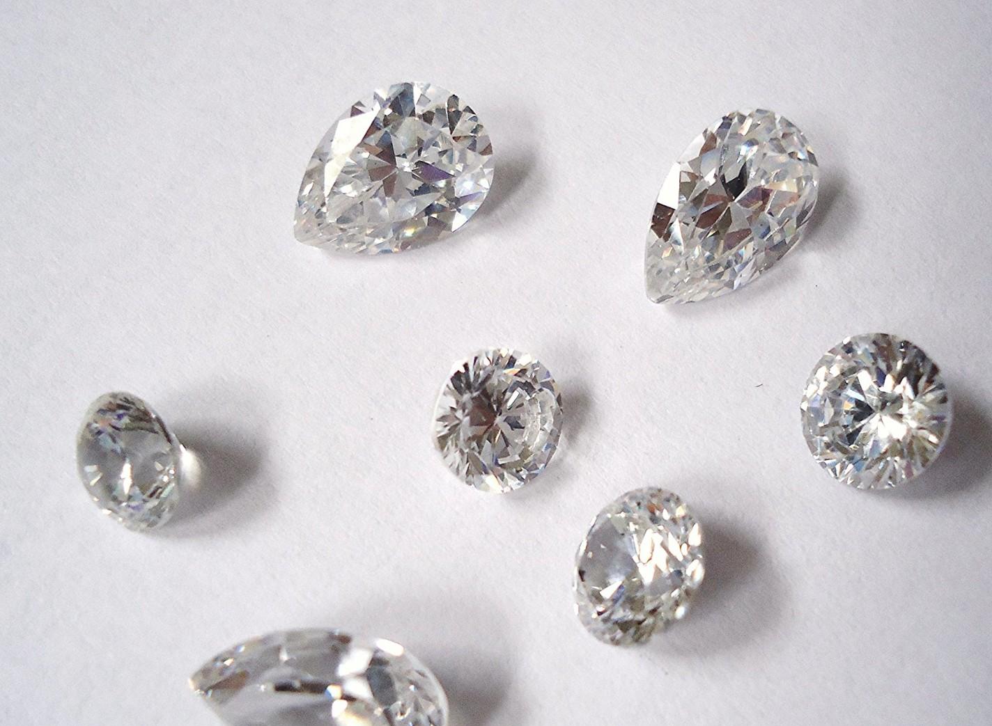 cubic zirconia engagement ring amazon