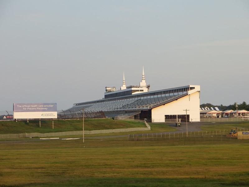 pocono raceway grandstand
