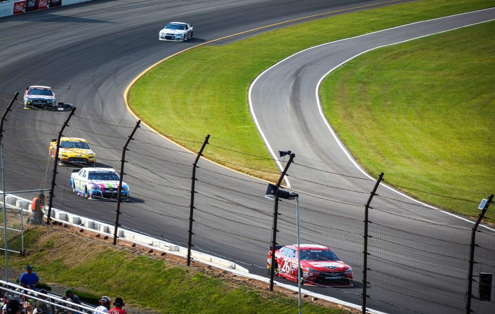 Pocono Raceway Turn 3