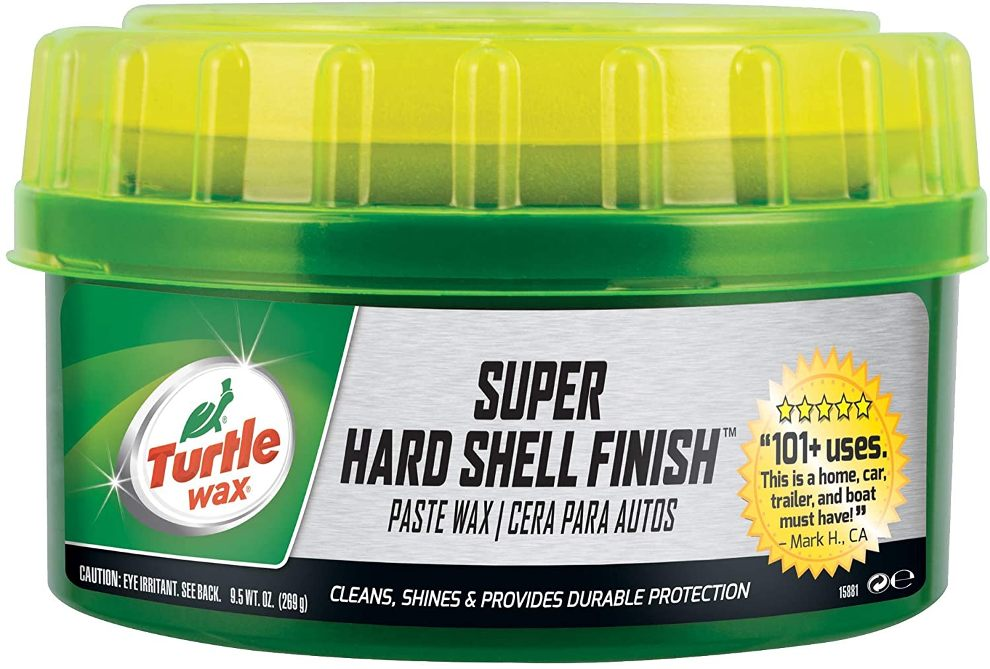 hard shell turtle wax