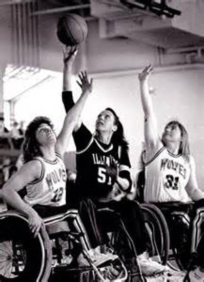 sharon hedrick wheelchair basketball