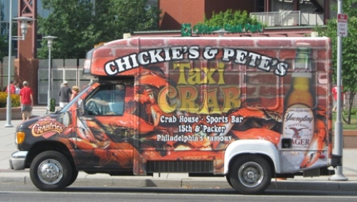 chickie's and pete's taxi crab