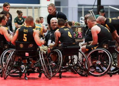 us army wheelchair basketball
